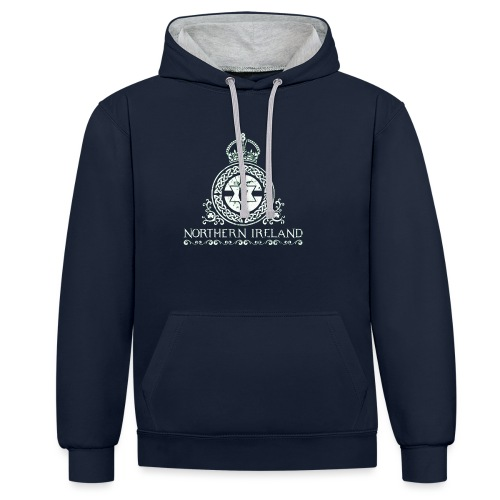 Northern Ireland - Contrast Colour Hoodie