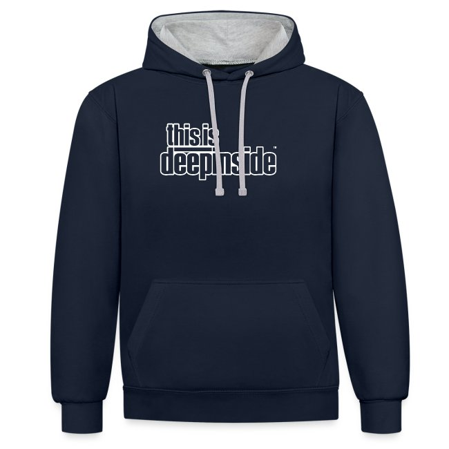 This is DEEPINSIDE logo white