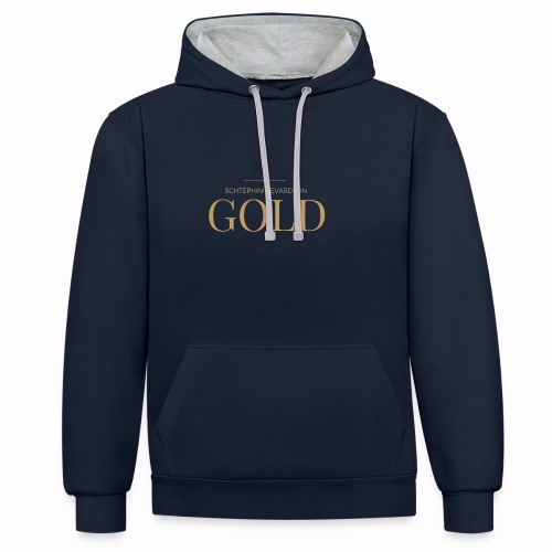Schtephinie Evardson: Ultra Premium Gold Edition - Contrast Colour Hoodie