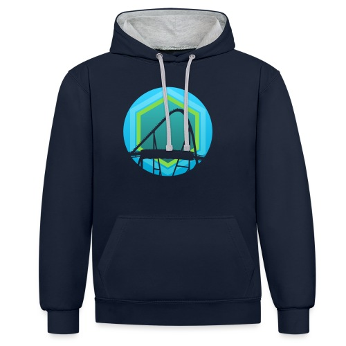 Sting325 - Contrast Colour Hoodie