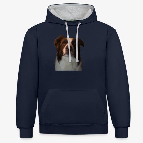 colliebraun - Contrast hoodie