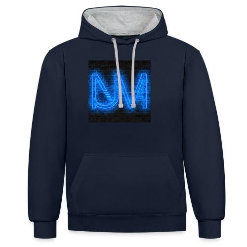 NUMA Neon - Kontrast-Hoodie