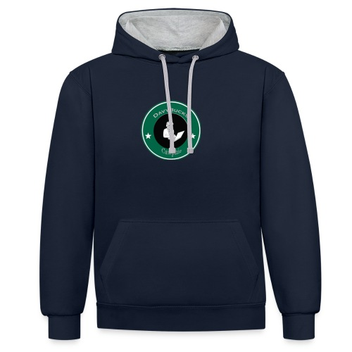 DavyBucks - Contrast hoodie