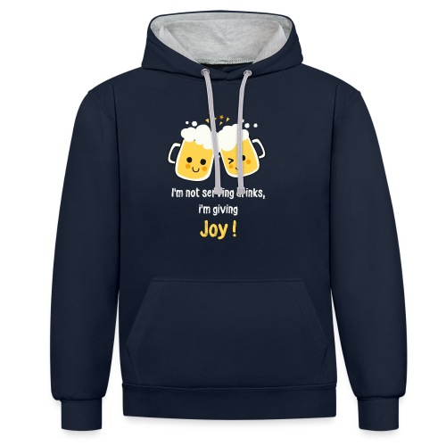 Giving Joy - Contrast Colour Hoodie