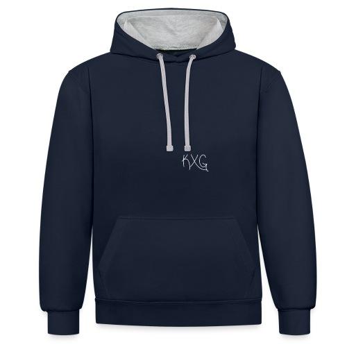 KXGlogo png - Contrast hoodie