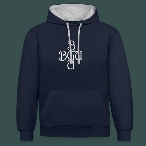 BGU - Kontrast-Hoodie