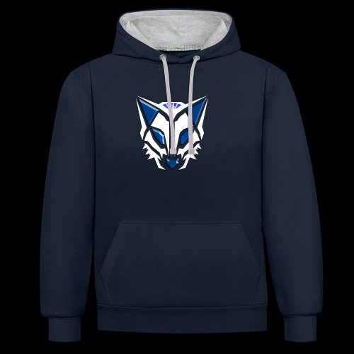 DGP 2019 Nieuwe logo - Contrast hoodie