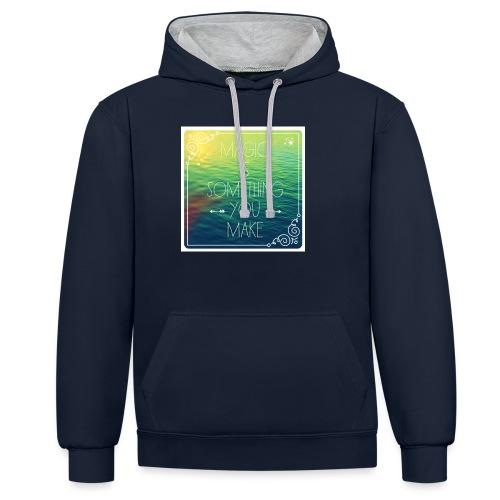 MAGIC - Contrast hoodie