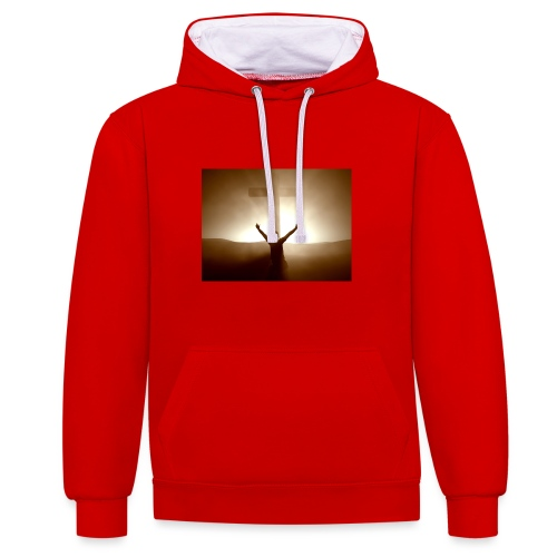 Victory - Contrast Colour Hoodie