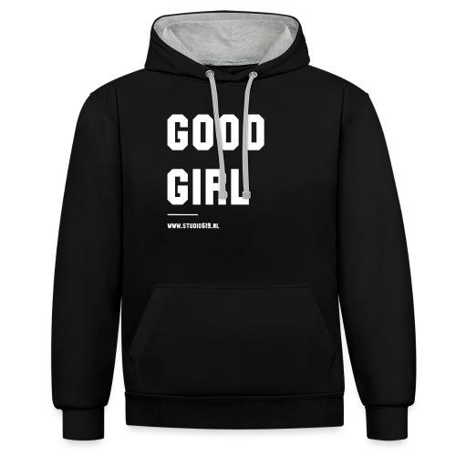 TANK TOP GOOD GIRL - Contrast hoodie