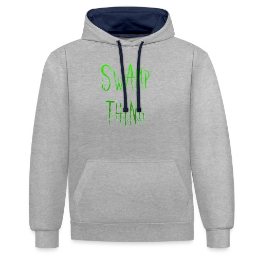 Swamp thing - Contrast Colour Hoodie