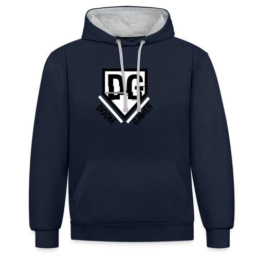 Doomgamer trui v2.0 - Contrast hoodie