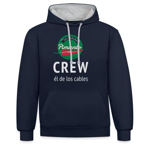 Pimiento Crew Gear - Contrast hoodie