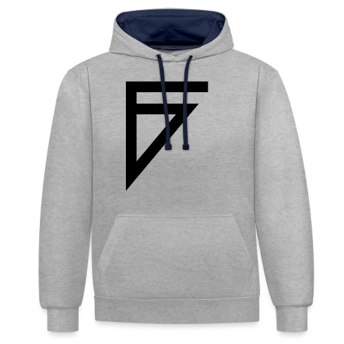 F - Contrast Colour Hoodie