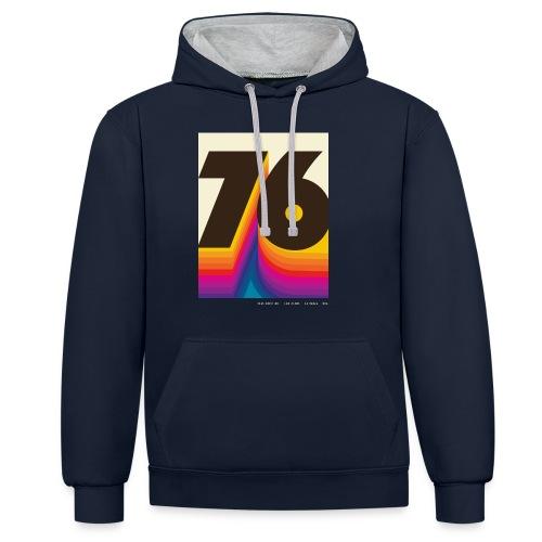 1976 in 2066 Crist Drive - Kontrast-Hoodie
