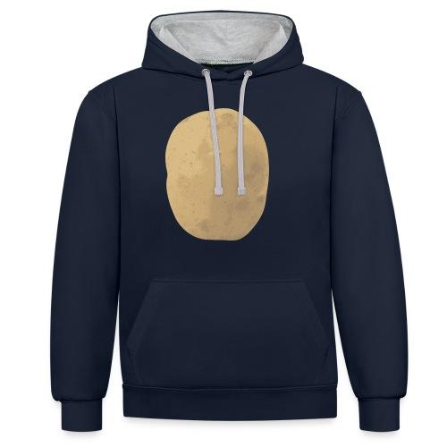 Aardappel - Contrast hoodie