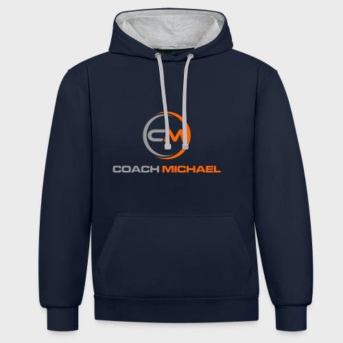 Coach Michael Personal Training & Coaching - Kontrast-Hoodie