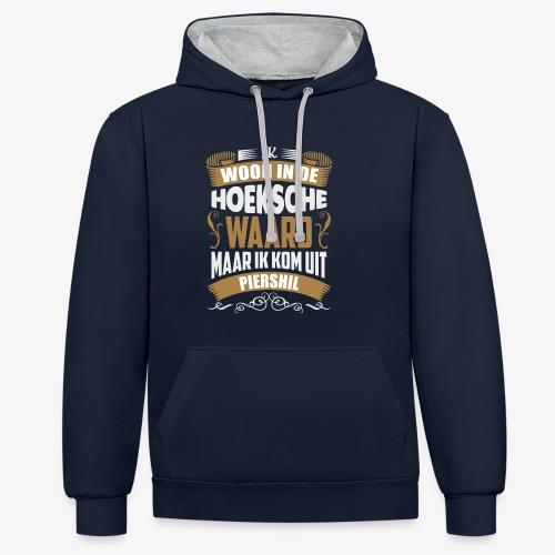 Piershil - Contrast hoodie