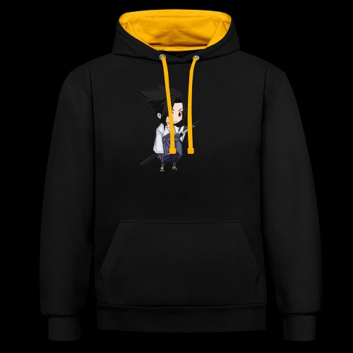 Sasuke - Sweat-shirt contraste