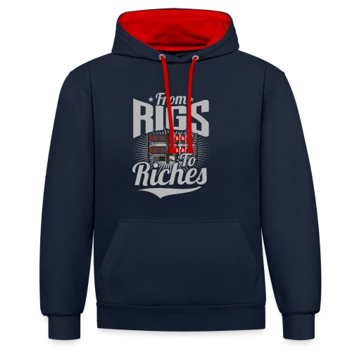 From Rigs To Riches - Sweat-shirt contraste