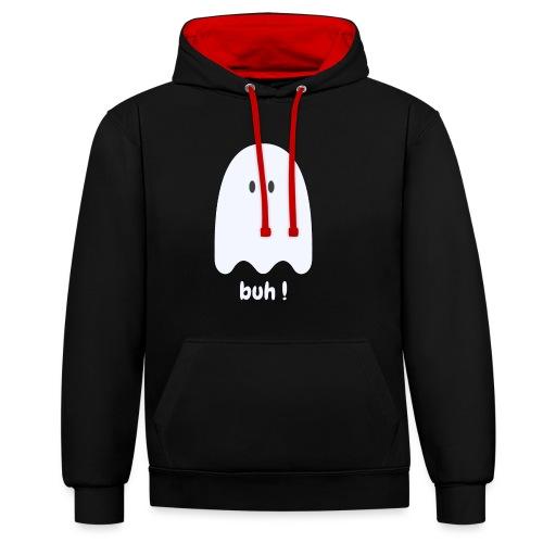 Buh ! - Kontrast-hættetrøje