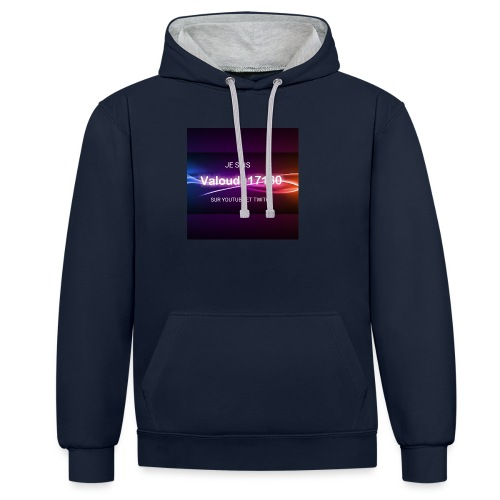 Valoudu17180twitch - Sweat-shirt contraste
