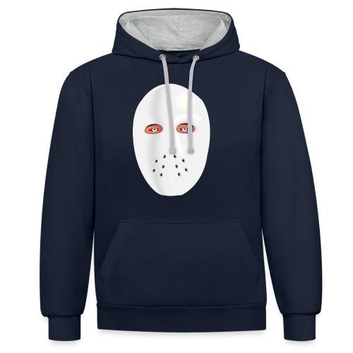 Jason - Kontrast-Hoodie