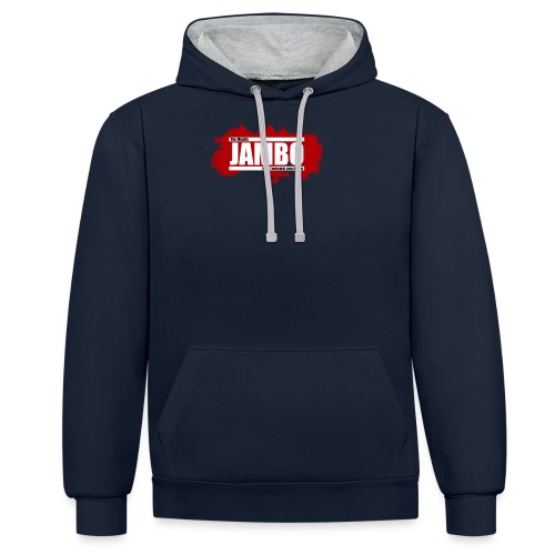 JamboLogo png - Contrast Colour Hoodie