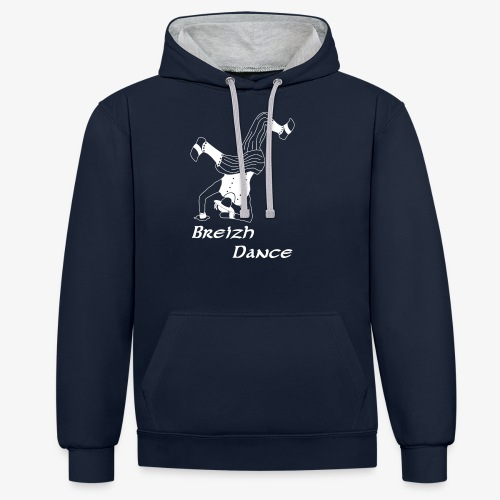 BZH Atypik Design - Breizh Dancer - Sweat-shirt contraste