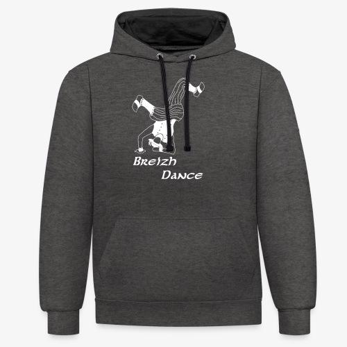 BZH Atypik Design - Breizh Dancer - Sweat-shirt contraste