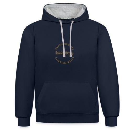 Middelburg 1217 - Contrast hoodie