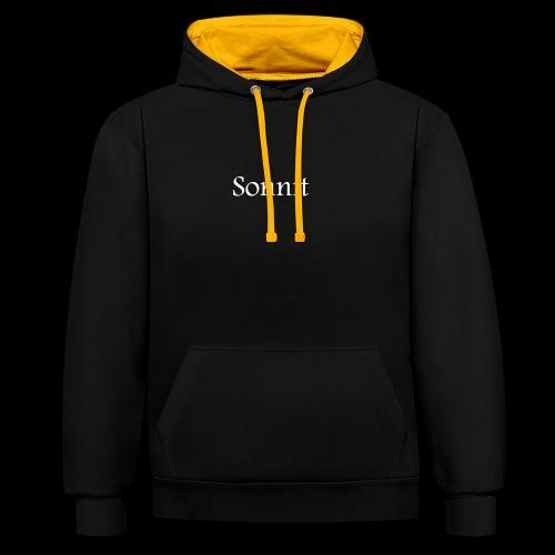 Sonnit - Contrast Colour Hoodie