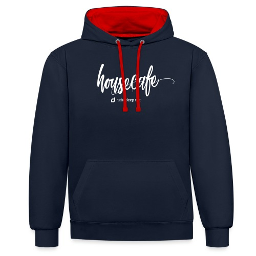 Collection Housecafe - Contrast Colour Hoodie