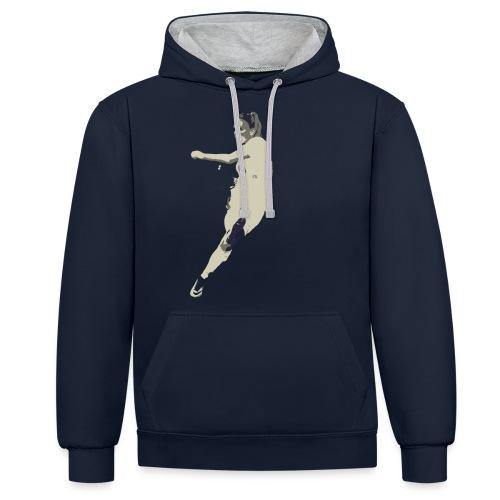 JAIMY VISSER - Contrast hoodie