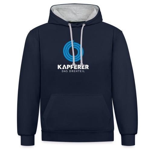 Logo Kapferer - Kontrast-Hoodie