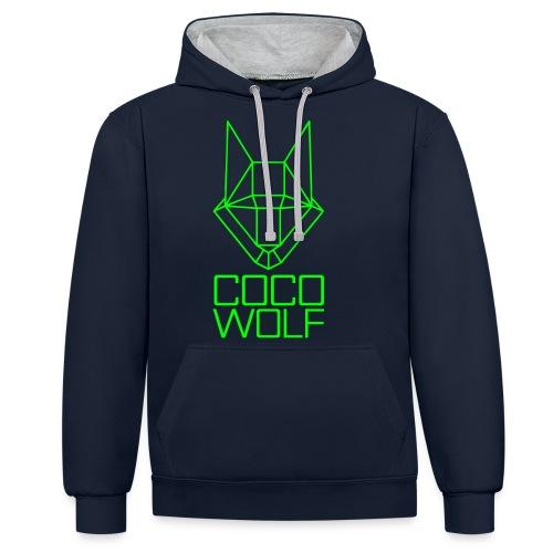 COCO WOLF - Kontrast-Hoodie