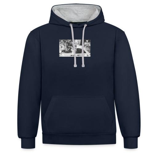 Zzz - Contrast hoodie