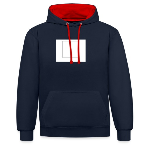 Square t shirt - Contrast hoodie