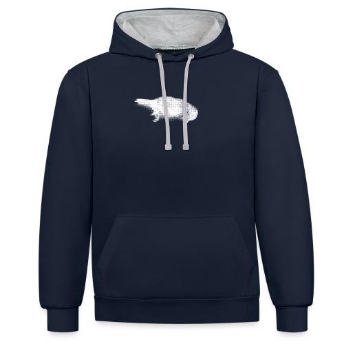 Die bird die !!! - Sweat-shirt contraste