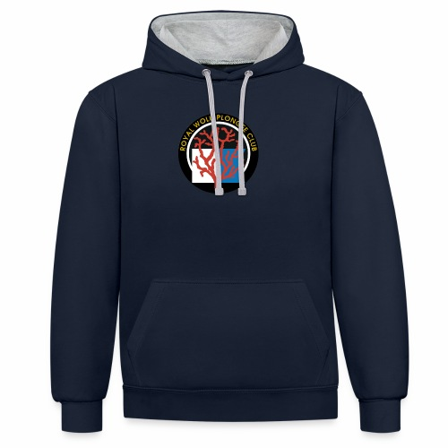 Royal Wolu Plongée Club - Sweat-shirt contraste