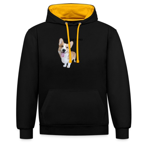 Silly Topi - Contrast Colour Hoodie