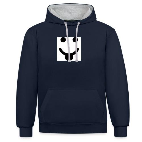 smlydesign jpg - Contrast hoodie