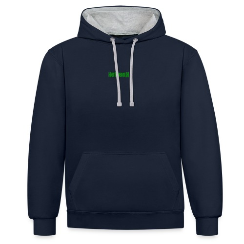 Ketoenk 2.1.1Groen - Sweat-shirt contraste