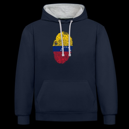 venezuela 653088 1920 - Sudadera con capucha en contraste