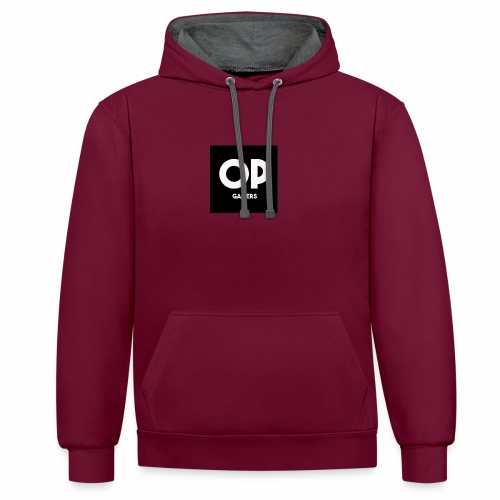 Opgamers - Contrast Colour Hoodie