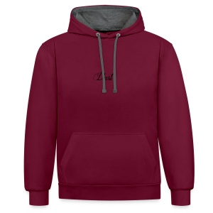 logo_v1 - Contrast hoodie