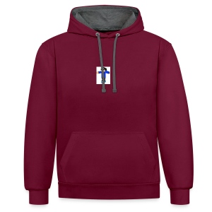 My youtube Speradshrit - Contrast Colour Hoodie