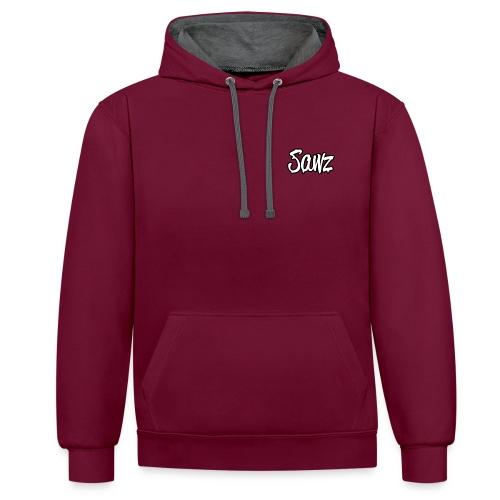 SAWZ - Sweat-shirt contraste