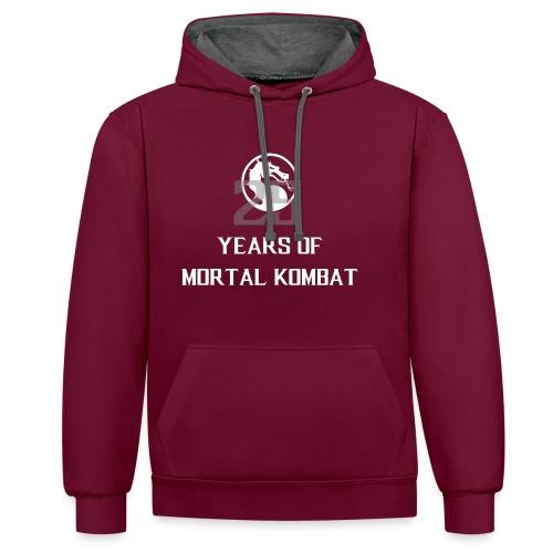 25 Years of Mortal Kombat: Mortal Kombat X ver. 01 - Contrast Colour Hoodie