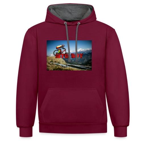mtb boy clothes - Contrast Colour Hoodie